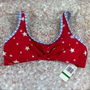 Stars & Stripes Swim Top NWT